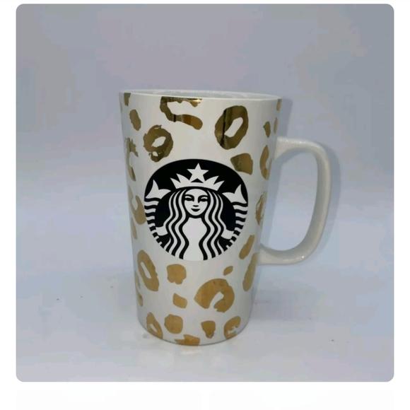 Starbucks cheetah mug
